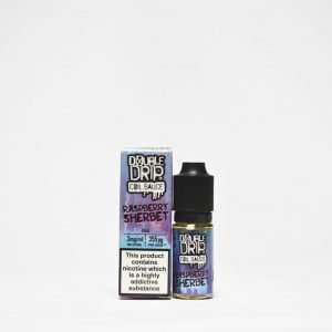 Double Drip E Liquid - Raspberry Sherbet - 10ml