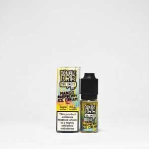 Double Drip E Liquid - Mango Raspberry Ice Cream - 10ml