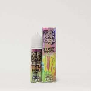 Double Drip E Liquid - Sherbet Rainbow - 50ml