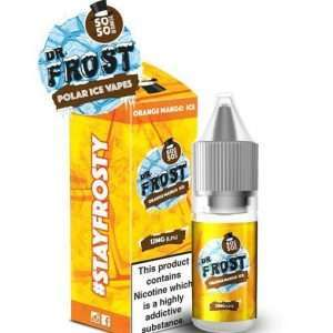 Dr Frost E Liquid - Orange & Mango Ice - 10ml