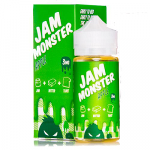 Jam Monster E Liquid - Apple - 100ml