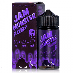 Jam Monster E Liquid - Blackberry - 100ml