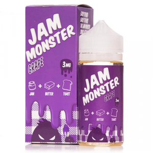 Jam Monster E Liquid - Grape - 100ml
