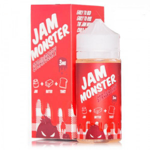 Jam Monster E Liquid - Strawberry - 100ml
