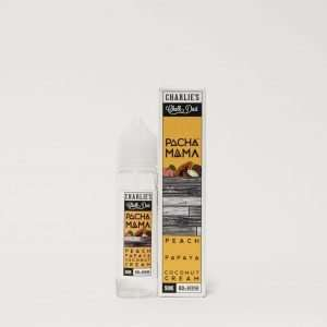 Pacha Mama E Liquid - Peach, Papaya and Coconut Cream - 50ml