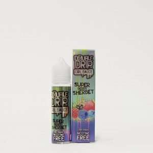 Double Drip E Liquid - Super berry Sherbet - 50ml