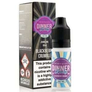 blackberry crumble salt nic e liquid by dinner lady 20mg 00 large