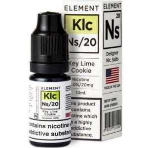 key lime cookie e liquid by element ns10 ns20