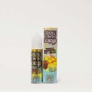 Double Drip E Liquid - Mango Raspberry Ice Cream - 50ml