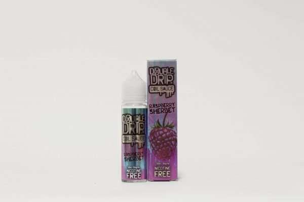 Double Drip E Liquid - Raspberry Sherbet - 50ml