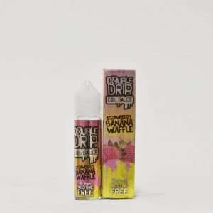 Double Drip E Liquid - Strawberry Banana Waffle - 50ml